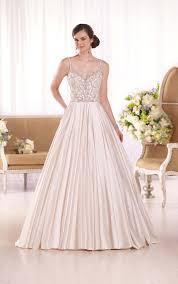 luxe satin bridal gown i essense of australia