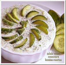 bonoise cuisine salad entry salad of cucumber salad simple and bonoise