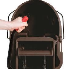 Rubbermaid Bag U0026 Kitchen Wrap Rubbermaid Fg758088brn Wavebrake 35 Qt Brown Mop Bucket With