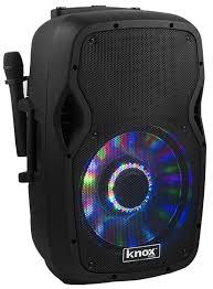 rca 100 watt dvd home theater knox gear 100 watt 15 inch portable bluetooth speaker system