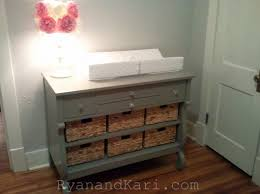 Dresser As Changing Table Painted Antique Dresser Changing Table Diy Home Cleaning Within