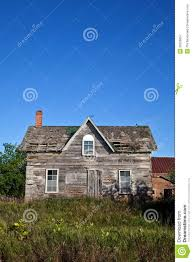 abandoned house front view royalty free stock photography image