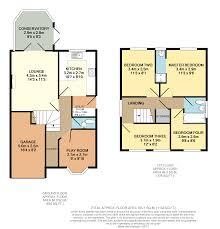 Conservatory Floor Plans 4 Bedroom Detached House For Sale In Harrogate Close Warrington