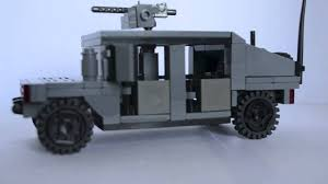 lego army humvee lego review m1114 hmmwv humvee youtube