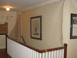 child safe stair railing stair barrier safety nets safety