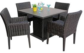 Dining Table For 4 Lovable Outdoor Dining Sets For 4 Buy Mainstays Warner Heights 5