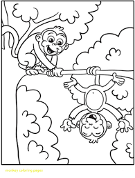 printable coloring pages monkeys monkey printable coloring pages odd color sheet free page cj 1st