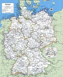 map of germany cities map of germany with cities and towns