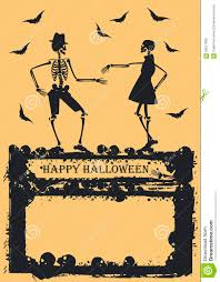 halloween dancing skeleton dancing skeleton on yellow background stock vector image 58917690