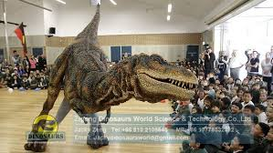 realistic costumes high quality robotic dinosaur costume animatronic dinosaur costume