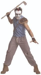 Teenage Male Halloween Costumes Casey Jones Men Teenage Mutant Ninja Turtle Classic Costume