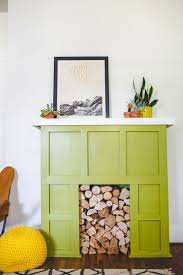 Ikea Restyle Modern Hollywood Regency by Try This A Faux Fireplace U2013 A Beautiful Mess