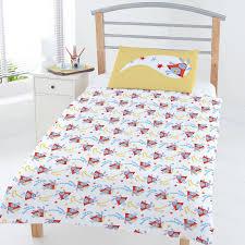 Postman Pat Duvet Set New Bing Bunny Junior Toddler Cot Bed Size Duvet Quilt Cover Set