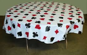 themed table cloth card octy table cover tablecloths skirts and runners