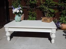 French Country Coffee Tables - large shabby chic french country coffee table sold