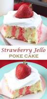Halloween Poke Cake by Strawberry Jello Poke Cake