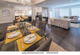 Living Room And Family Room by Dining Room Stock Images Royalty Free Images U0026 Vectors Shutterstock