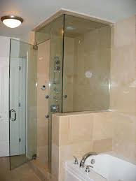 Glass Shower Doors Cost Prices Of Glass Showers Frameless Shower Doors Cost Regarding Door