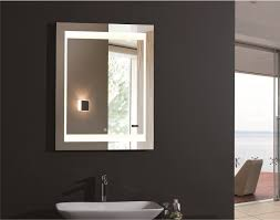 Bathroom Mirrors And Lighting Ideas by Home Decor Bathroom Mirror With Led Lights Tv Feature Wall