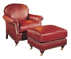 Chairs With Ottomans For Living Room Paddington Chair U0026 Ottoman Classic Leatherclassic Leather