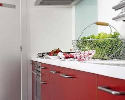 kitchen and home interiors 2 modern kitchen designs in white and red colors creating retro