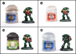 tutorial how to paint dark angels tactical marines from dark