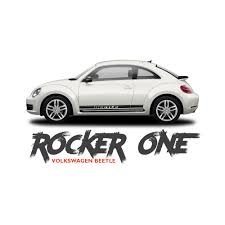 volkswagen bug 2016 white volkswagen beetle rocker one lower door rocker panel body striping