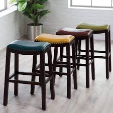 Bar Stool Kitchen Island Furniture White Leather Counter Height Bar Stools For Kitchen