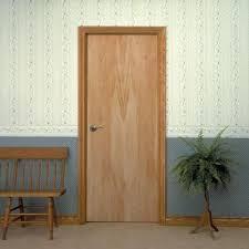 home depot prehung interior door masonite 36 in x 80 in smooth flush hardwood hollow birch