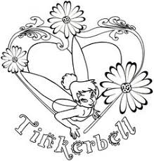 tinkerbell coloring pages print tinkerbell coloring
