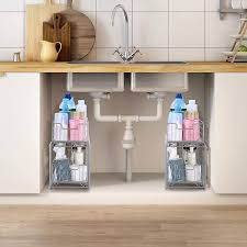 the kitchen sink cabinet organization stuff we kitchen storage products family handyman