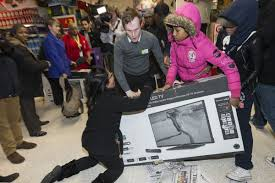 black friday flat screen tv deals black friday asda woman fights off everyone at wembley store for