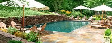 pool in a small backyard