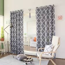 Morroco Style by Colorful Curtains Fully Lined Eyelet X Xcm Dark Navy See Blue