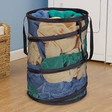 Container Store Laundry Hamper by Amazon Com Household Essentials 2026 Pop Up Collapsible Mesh