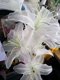Lily Flowers How To Make Stocking Lily Flowers Easy Craft Ideas