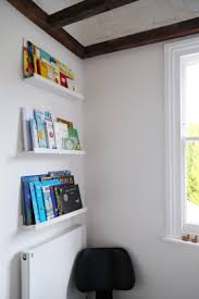 ikea mosslanda a book nook with ikea mosslanda picture ledges door eleven