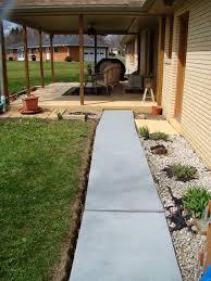 cement sidewalk redo making my old sidewalk look like new