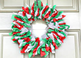 ribbon wreath craft ideas
