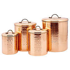copper kitchen canisters copper canisters ebay