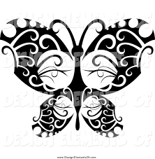 royalty free black and white stock design element designs