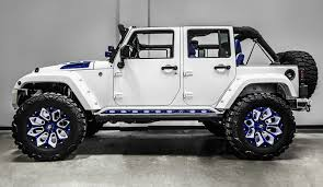 power wheels jeep wrangler this stormtrooper of a jeep wrangler is 60 000 worth of overkill