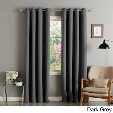 Easy Blackout Curtains These Light Blocking Thermal Insulated Curtain Panels Are