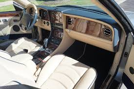 bentley cream 1999 bentley azure parchment with blue piping stock 723 for sale