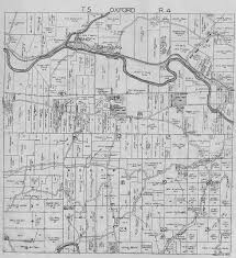 Oxford Ohio Map by Coshocton Ohio Oxford Township