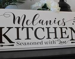 personalized kitchen items personalized kitchen etsy
