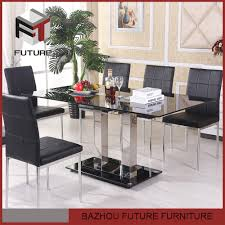 6 Seater Wooden Dining Table Design With Glass Top 8 Seaters Glass Dining Table 8 Seaters Glass Dining Table