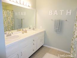 and finally our master bathroom was painted in glidden color