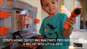 step2 home depot big builders pro workshop youtube