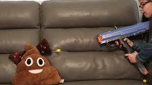 Couch Emoji by Emoji Vs Nerf Rival Youtube